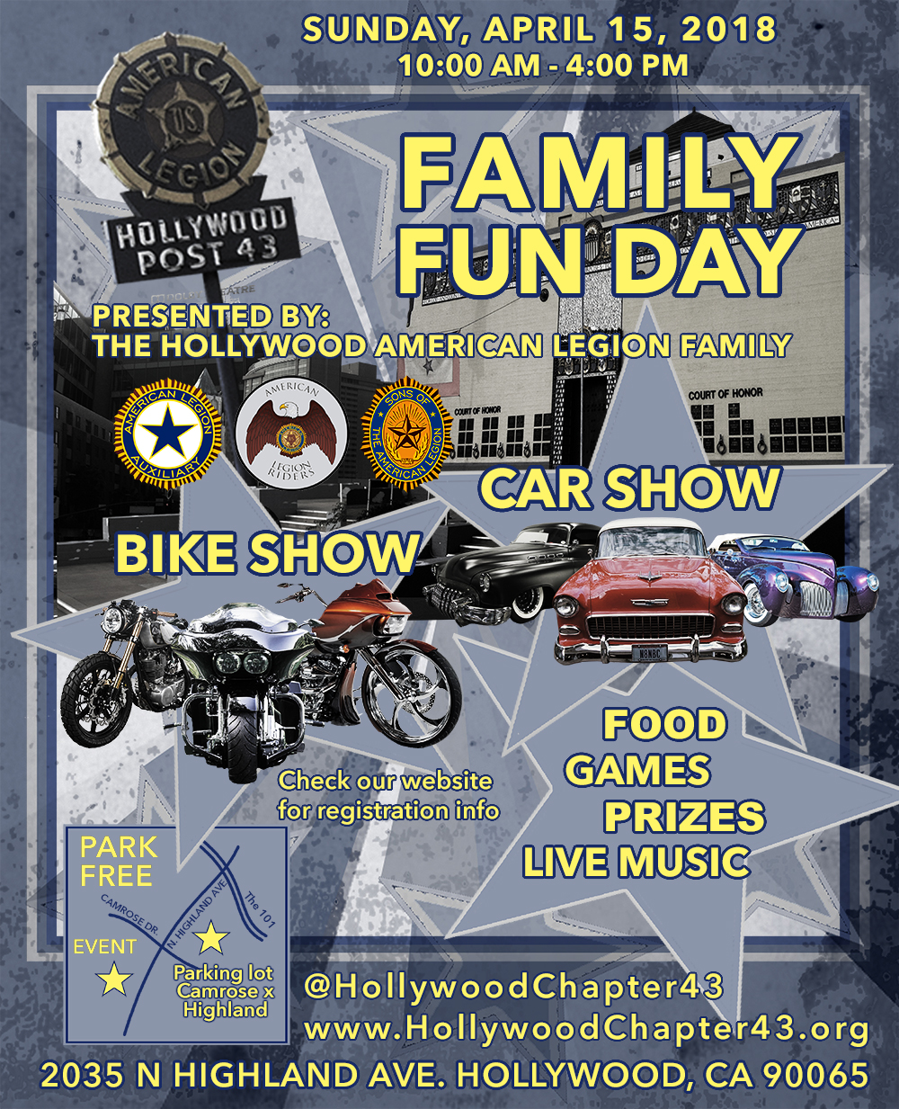Family Fun Day - Car show los angeles ca